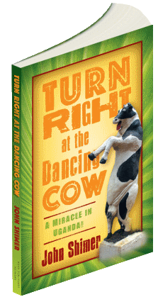 Turn Right at the Dancing Cow Book is on sale NOW!!